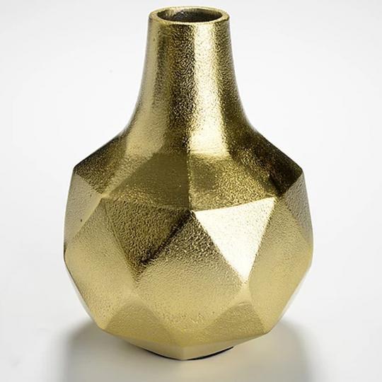 Vaso Aluminio Twist Ouro