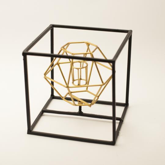 Escultura Diamante Enquadrado