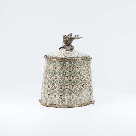 Caixa Decorativa de Porcelana