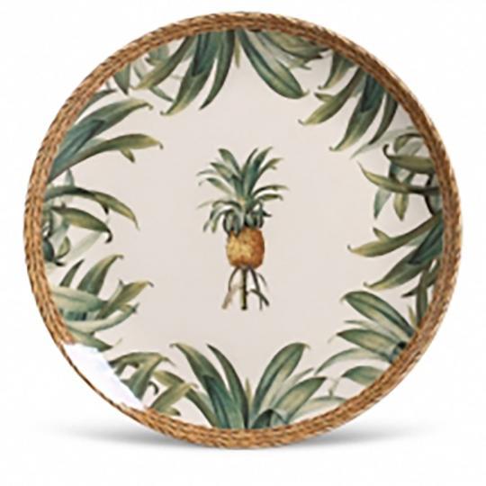 Jogo com 06 Pratos Rasos Coup Pineapple Natural 1O Classific