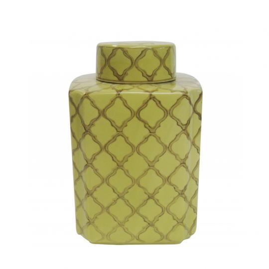 Pote de Cerâmica Dia Amarelo M