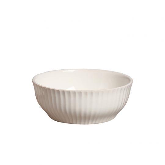 Bowl para Sopa Frisada Marfim
