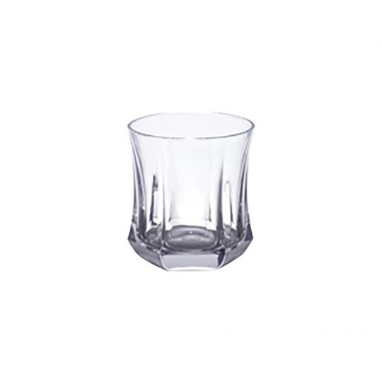Conjunto com 6 Copos para Whisky de Cristal Galaxy