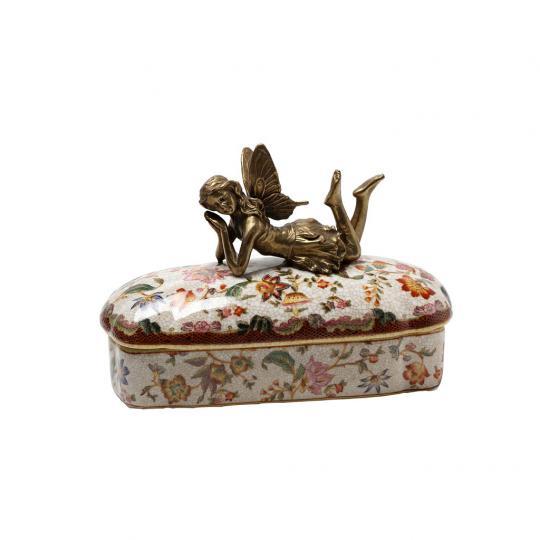 Caixa de Porcelana Les Fleurs
