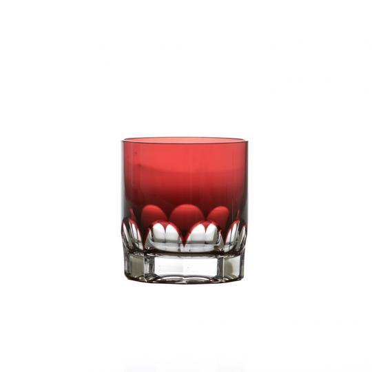 Copo Whisky Vermelho Franz Cristal