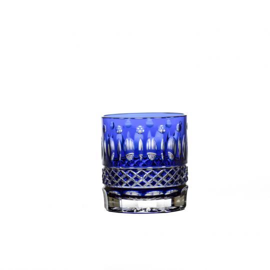 Copo Whisky Azul Claude Cristal