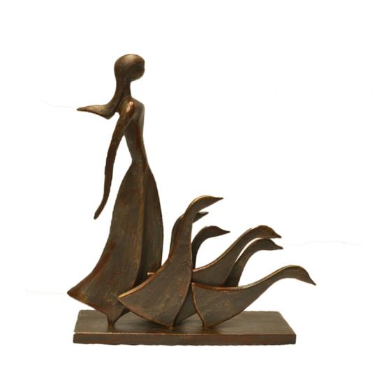 Escultura Pastora