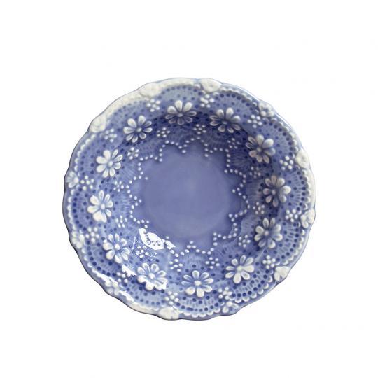 Bowl Rendada Azul