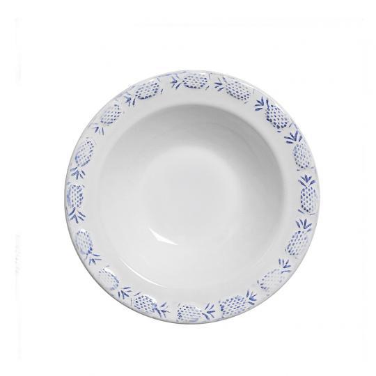 Conjunto com 06 Bowls Abacaxi Provance Azul