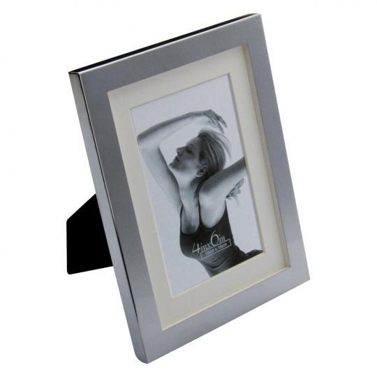 Porta Retrato com Moldura Branca M