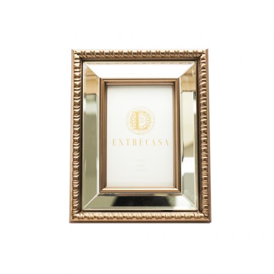 Porta Retrato Mdf Detalhe Espelho