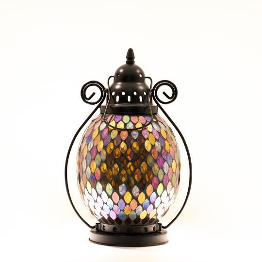 Lanterna Decorativa De Ferro