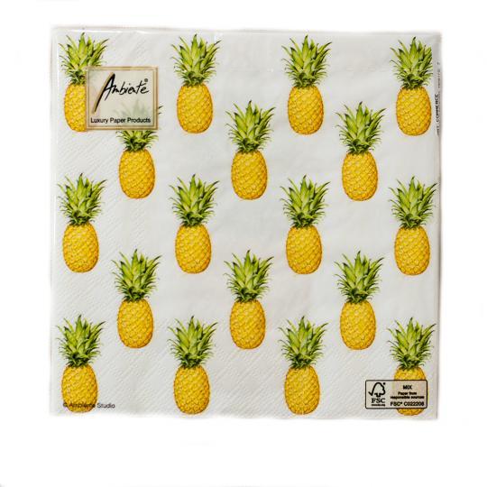 Pacote Guardanapo Tropical Fruit