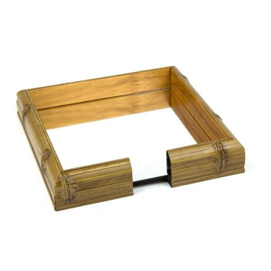 Porta Guardanapo Bambu Espelhado