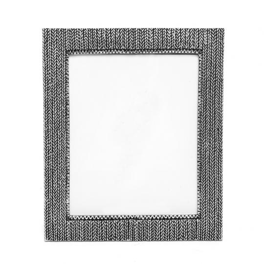 Porta Retrato Resina Prata