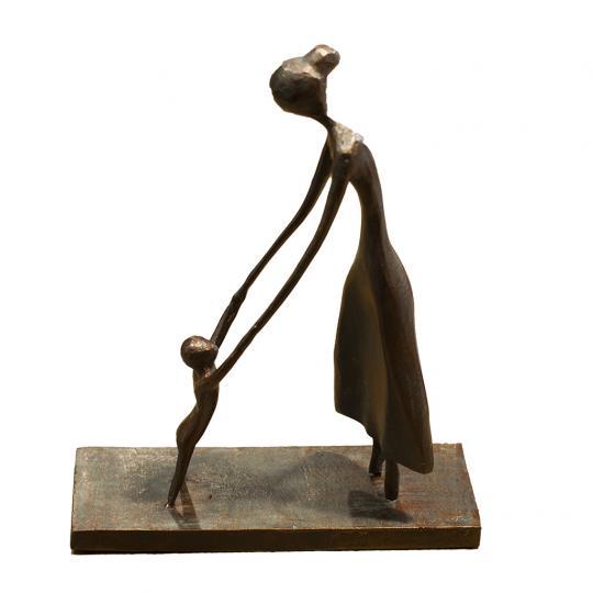 Escultura Bebe