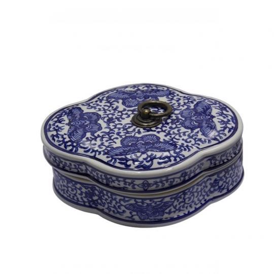 Caixa de Porcelana Chinesa