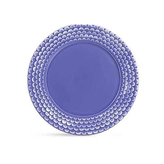 Sousplat Escama Azul