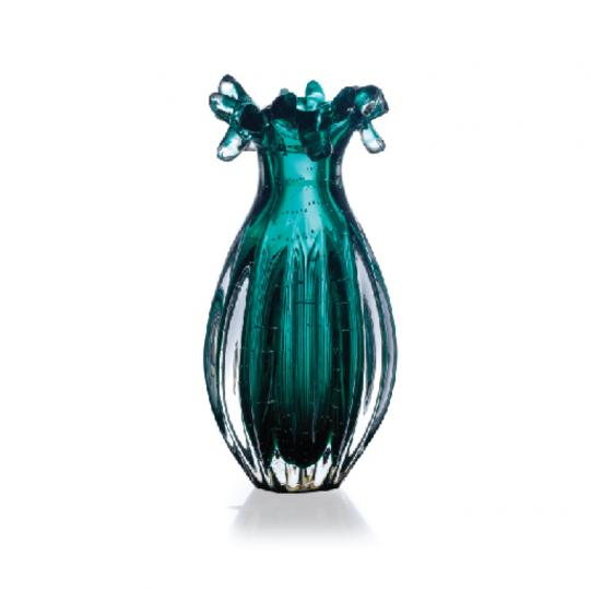 Vaso Esmeralda de Cristal G
