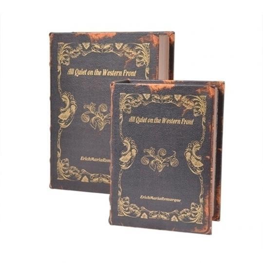 Conjunto com Duas Caixas Livros
