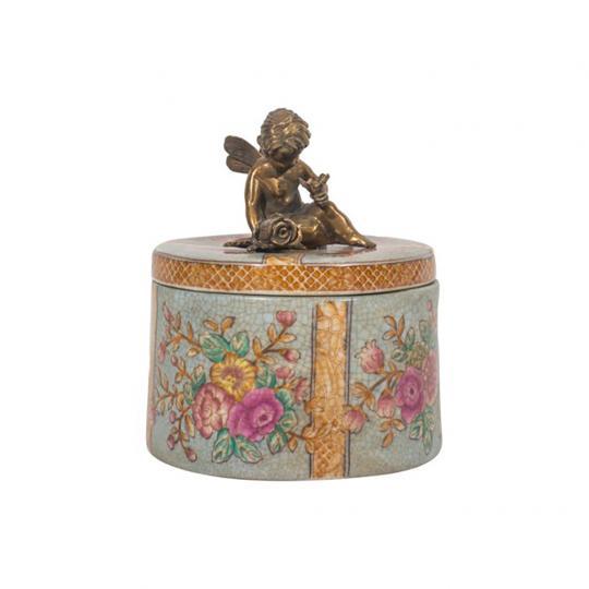 Caixa de Porcelana Flor