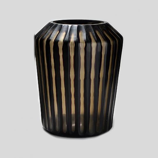 Vaso de Vidro Tabla Black Grande