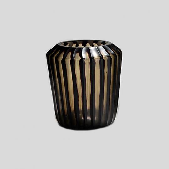 Vaso de Vidro Tabla Black Pequeno