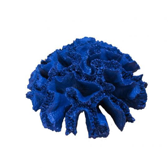 Coral em Poliresina Azul