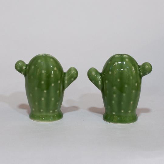 Conjunto Saleiro/Pimenteiro Cactus