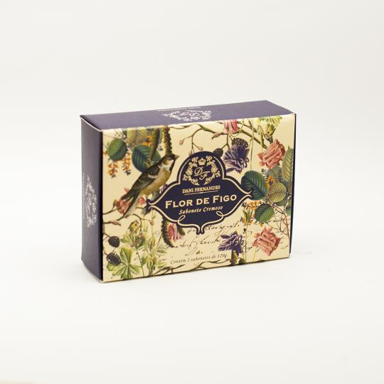Sabonete Barra Kit Flor de Figo