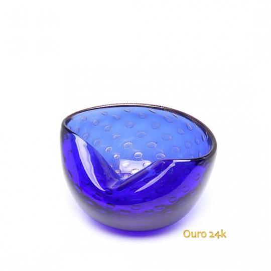 Bowl 1 Tela Azul com Ouro
