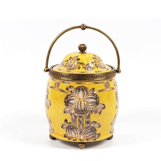 Potiche de Porcelana Yellow